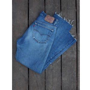Levi's button up jeans
